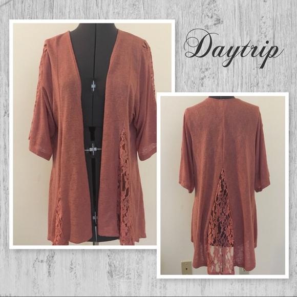 79c9a88e22 Daytrip Sweaters - Daytrip Orange Cardigan